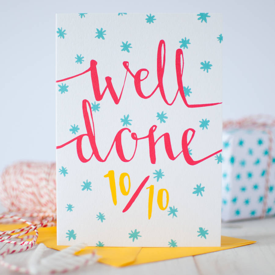 top marks exam and graduation card by betty etiquette ...