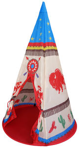 Wild West Wigwam Pop Up Tent - garden