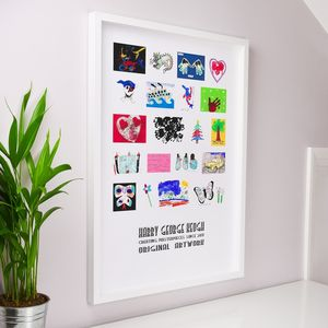 Children's Artwork Print - baby's room