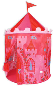 Girls Pink Princess Castle Pop Up Tent - tents, dens & wigwams