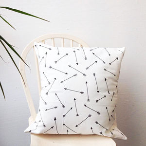 Arrow Pattern Cushion - patterned cushions