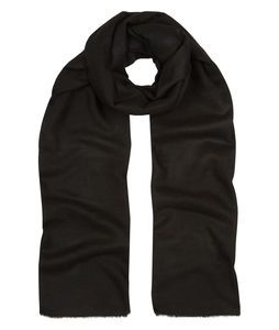 Black Cashmere Scarf - women's accessories