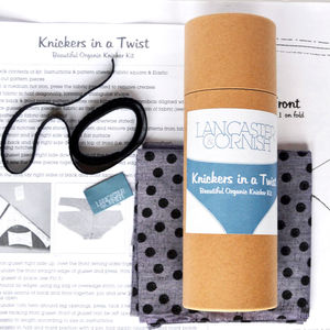 Knickers In A Twist Sewing Kit Bamboo Spots