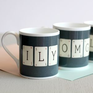 I Love You Lexicon Mug - view all sale items