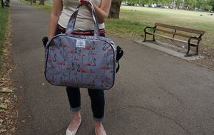 Flamingo Party Overnight Bag - holdalls & weekend bags