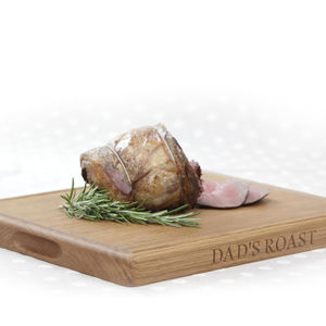 Personalised Oak Hand Crafted Board - chopping boards