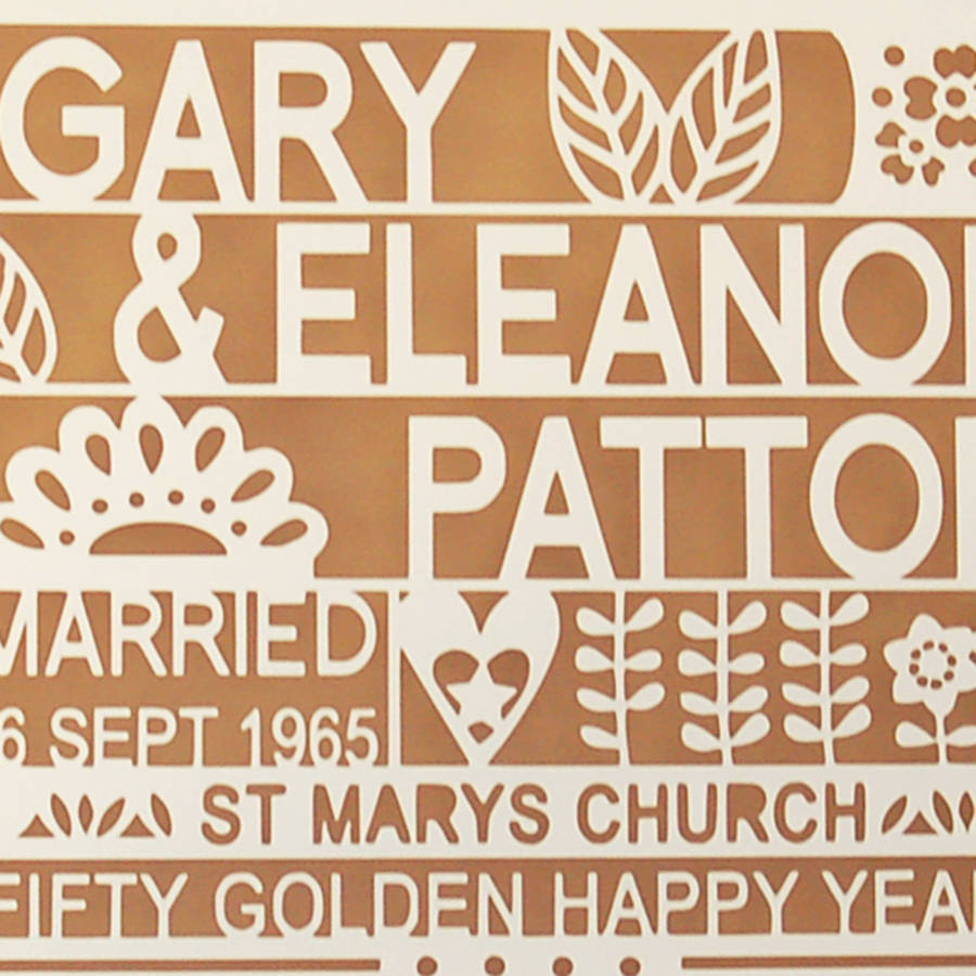 Gifts For Friends 50th Wedding Anniversary : ...Ae2f1 50th Wedding Anniversary Gifts For Friends 51c8hj4nbgl Love