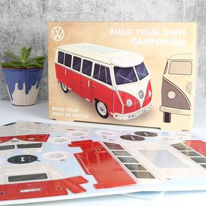 Build Your Own 3D Campervan Puzzle - toys & games