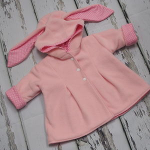 Pink Bonnie Bunny Jacket For Babies And Children