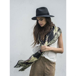 Rams And Wings Cashmere Scarf - winter bohemia accessories