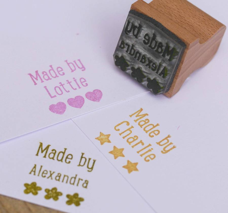 Childrens Stamp Kit By English Company