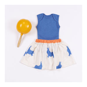 Organic Baby Donkey Skirt - clothing