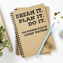 Personalised Business Plan Notebook