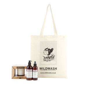 Wildwash Fragrance No.01 Candle Gift Set - pet grooming & hygiene