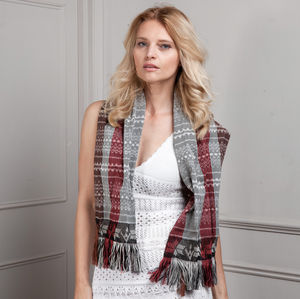 Fair Trade Short Scarf From Mexico With Love - men's accessories