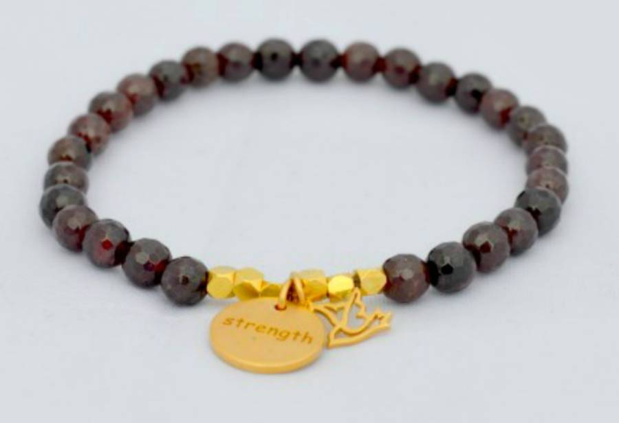 Courage Strength And Peace Bracelet By Ps With Love Notonthehighstreet