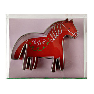 Pony Party Horse Cookie Cutter - baking