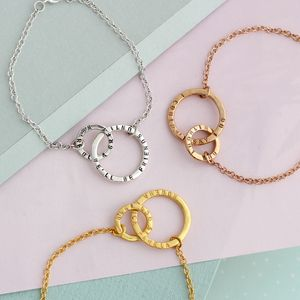Personalised Link Bracelet - gifts for mothers