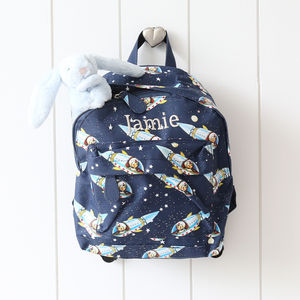 Spaceboy Rucksack - personalised
