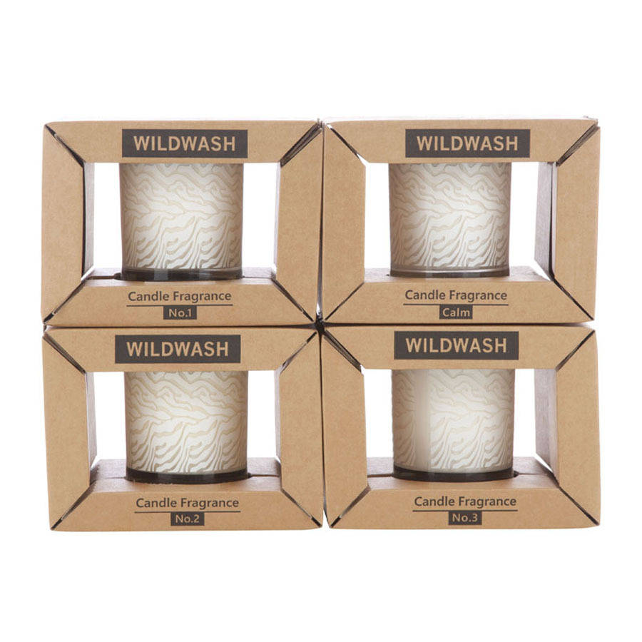Set Of Four Wildwash Candles