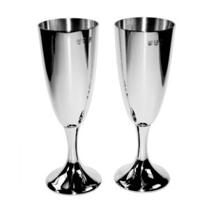 Luxury Pair Of Celebration Flutes - camping