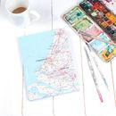 Vintage Map Notebook Or Sketchbook
