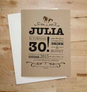 Horse Birthday Party Invitations - occasion