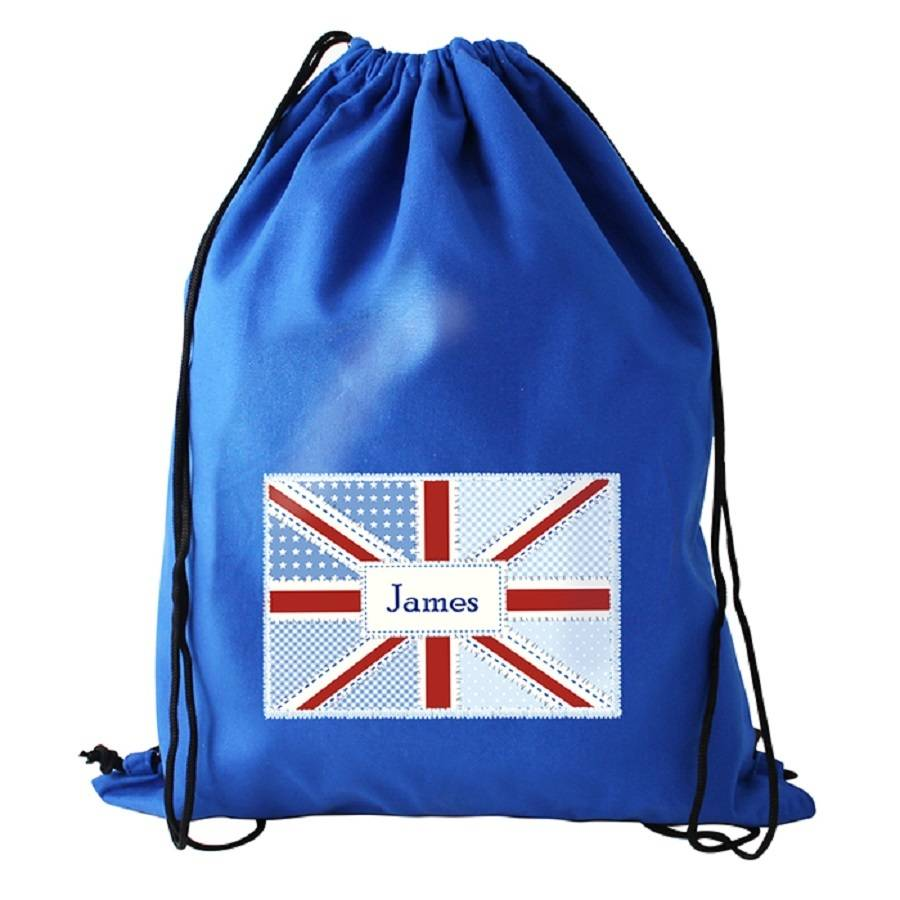 Personalised Union Jack Kit / Swim Bag