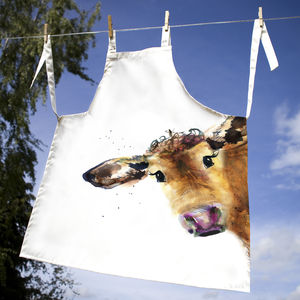 Inky Cow Apron - aprons