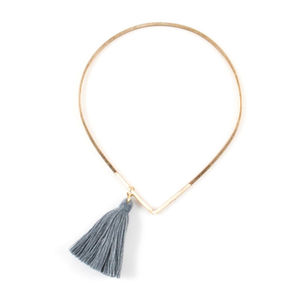 Gold Tassel Bangle - women's jewellery