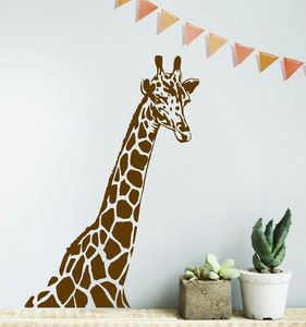 Giraffe Wall Sticker - prints & art sale