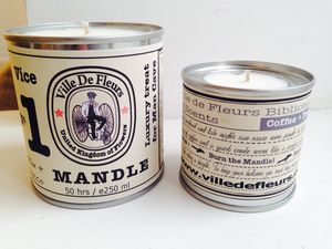 Mandle Candle For Man Vice No1 Black Coffee And Tobacco - occasional supplies
