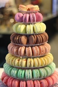 French Macaron Tower With 200 French Macarons - wedding favours