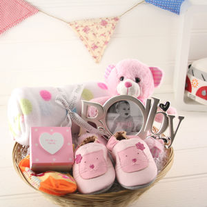 Create A New Baby And Mum Gift Basket - baby care