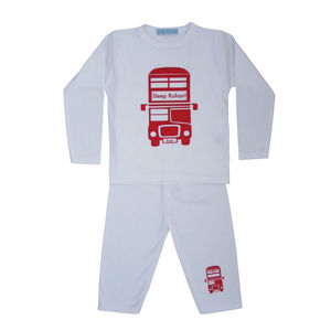 London Bus Pyjamas - clothing