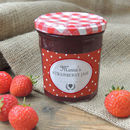 Personalised Spotty Jam Jar Labels