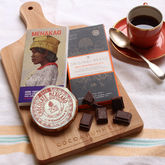 Dark Chocolate Tasting Board For Dinner Parties - food & drink