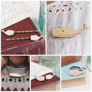 Whale jewellery