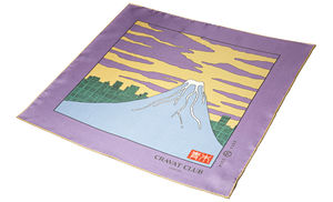 Akebono Large Silk Pocket Square - scarves