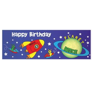 Personalised Space Banner