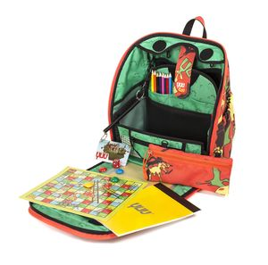 Children's Dinosaur Design Activity Backpack - gifts for children