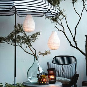 Hanging Paper Lantern - christmas home accessories