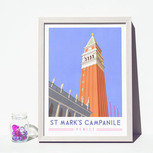 'St Mark's Campanile' Art Print