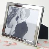 Personalised Silver Photo Frame - anniversary gifts
