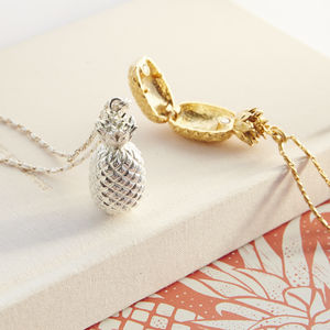 Pineapple Locket - gifts for her