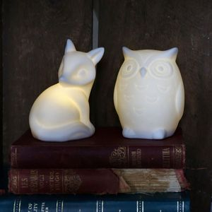 Woodland Friends Night Light - children's room accessories