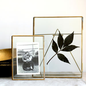 Antique Brass Photo Frames - keepsakes