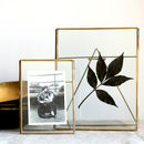 Antique Brass Photo Frames