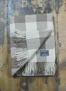Classic Wool Blanket In Jacob Tartan - throws, blankets & fabric
