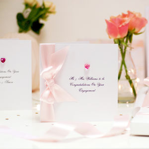 Bedazzled Personalised Engagement Card